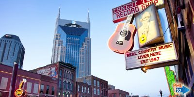 Cheap flights from Philly PHL to BNA Nashville, Tennessee, Philly Flight List, Moonfish
