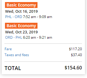 Cheap flights from PHL to ORD Chicago, Illinois