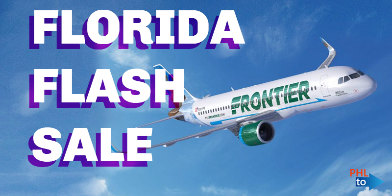 FLASH SALE* PHL to Florida Multiple Destinations All Direct Flights. From  $28 Round Trip