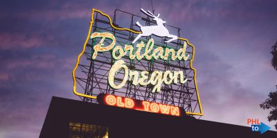 Cheap flights from PHL to PDX Portland Oregon