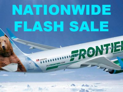 Frontier Flash Sale