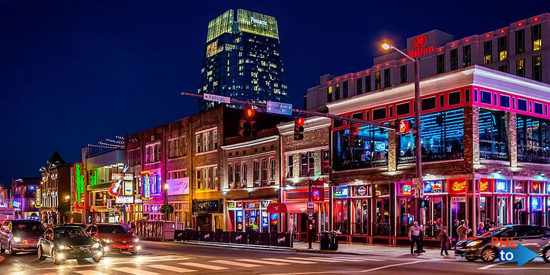 Cheap flights from PHL to BNA Nashville Tennessee
