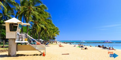 Cheap flights from PHL to HNL Honolulu Hawaii