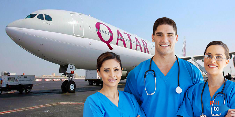 Qatar Free Flights Medical Workers