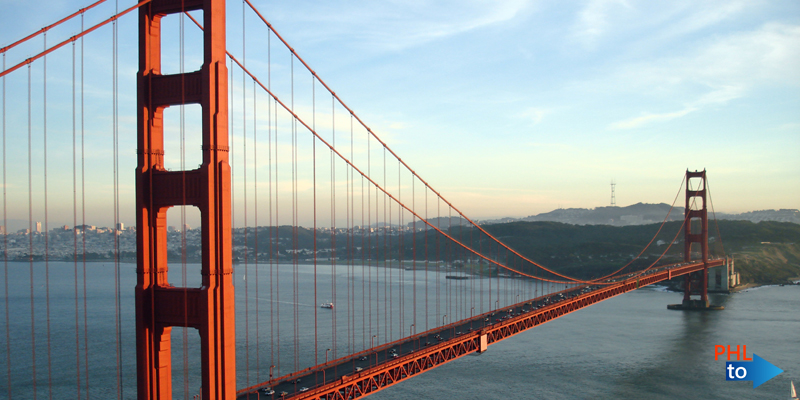 Cheap flights from PHL to SFO San Francisco California