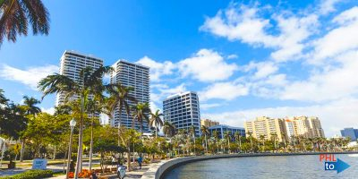 Cheap flights from PHL to PBI West Palm Beach Florida
