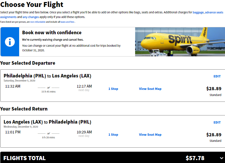 Cheap flights from PHL to LAX Los Angeles California